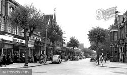 Eastleigh, Leigh Road c.1955