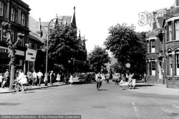 Photo of Eastleigh, Leigh Road c.1960