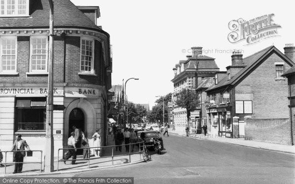 Photo of Eastleigh, Leigh Road c.1960