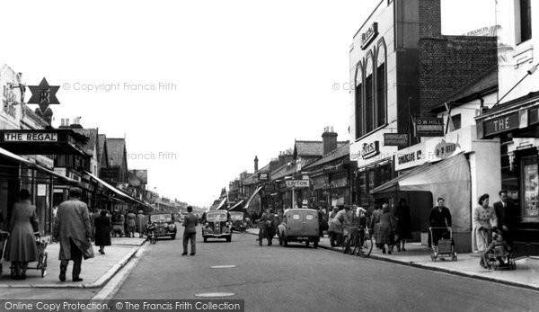Photo of Eastleigh, Market Street c.1955