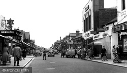Eastleigh, Market Street c.1955