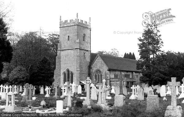 Photo of Eastleigh, North Stoneham Church c.1955