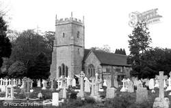 Eastleigh, North Stoneham Church c.1955