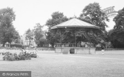 Eastleigh, Recreation Ground, Bandstand c.1960