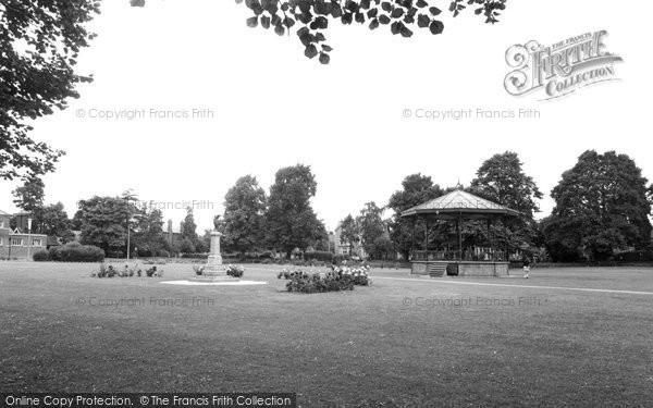 Photo of Eastleigh, Recreation Ground c.1960