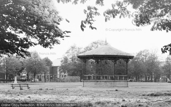 Photo of Eastleigh, The Bandstand c.1955