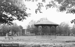 Eastleigh, The Bandstand c.1955