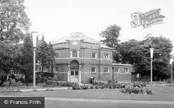 Eastleigh, The County Library c.1960