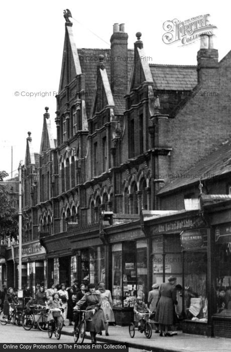 Photo of Eastleigh, The Eagle Building, Leigh Road 1951