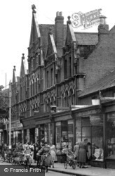 Eastleigh, The Eagle Building, Leigh Road 1951