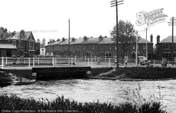 Photo of Eastleigh, The River Itchen c.1950