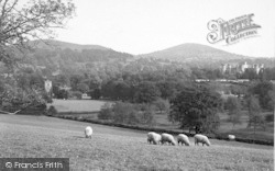 Eastnor, Castle And Church c.1890