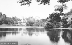 Eastnor, Castle And Lake c.1965