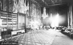 Eastnor, Castle, The Long Library c.1965