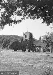 Eastnor, Parish Church c.1955