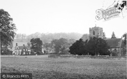 Eastnor, The Church And Vicarage c.1955