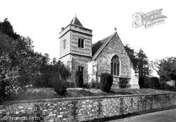 Easton Royal, Holy Trinity Church c.1955