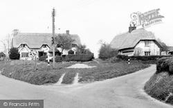 Easton Royal, The Village c.1955