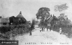 Village c.1900, Easton
