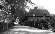 Eastry, Brook Street Lane c1955