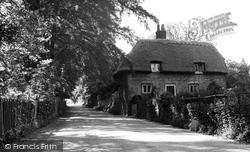Eastry, Brook Street Lane c.1955