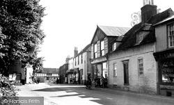 Eastry, High Street c.1955