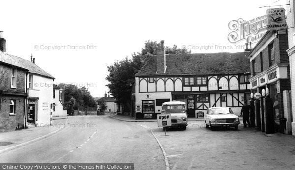 Photo of Eastry, High Street c1965