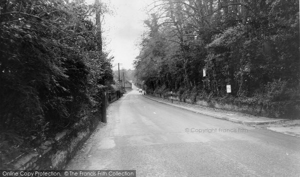 Eastry, Sandwich Hill c.1960