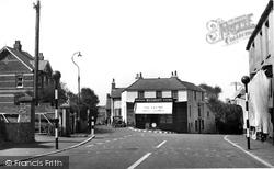 Eastry, Sandwich Lane c.1955