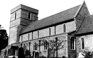Eastry, St Mary the Virgin Church c1965