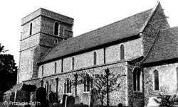 Eastry, St Mary The Virgin Church c.1965