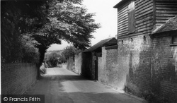 Eastry, The Approach To The Village c.1960