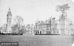Eaton, Eaton Hall c.1880