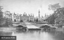 Eaton, Eaton Hall c.1900