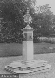 Eaton, Hall, The Sundial 1914