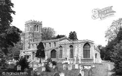 Eaton Socon, Church Of St Mary The Virgin c.1960