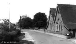 Eaton Socon, School Lane c.1960