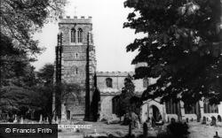 Eaton Socon, St Mary's Church c.1960