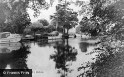 Eaton Socon, The River c.1960