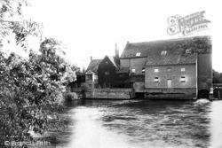 Eaton Socon, The River Mill 1897