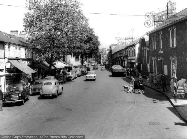 Ebbw Vale Bethcar Street c1960  Francis Frith