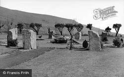 Ebbw Vale, Gorsedd Stones c.1960