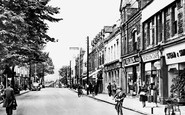 Ebbw Vale, Market Street c.1950