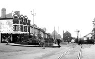 Ebbw Vale, The Crossing c.1955