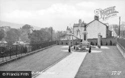 Ebbw Vale, The Memorial c.1955