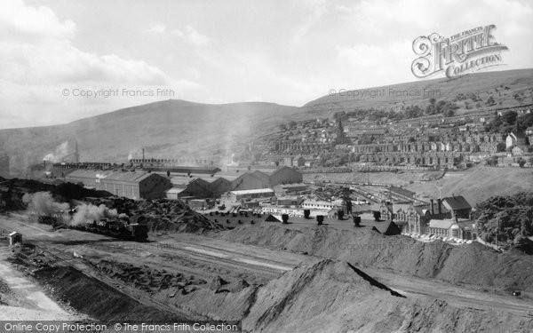 Ebbw Vale, the Steelworks c1960