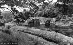 Hoddam Bridge c.1955, Ecclefechan