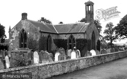 Ecclefechan, Hoddam Church c.1955