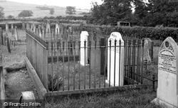 Ecclefechan, The Grave Of Thomas Carlyle c.1955