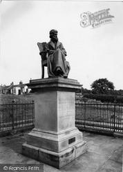 Ecclefechan, Thomas Carlyle Statue c.1955